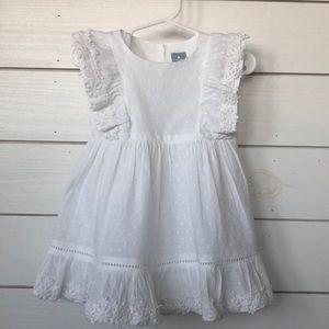 Gap NWT white lace dress